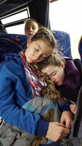 Schlaf der Gerechten.
